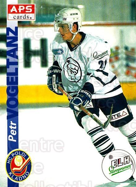 1996-97 Czech APS Extraliga #94 Petr Vogeltanz<br/>1 In Stock - $2.00 each - <a href=https://centericecollectibles.foxycart.com/cart?name=1996-97%20Czech%20APS%20Extraliga%20%2394%20Petr%20Vogeltanz...&quantity_max=1&price=$2.00&code=608286 class=foxycart> Buy it now! </a>