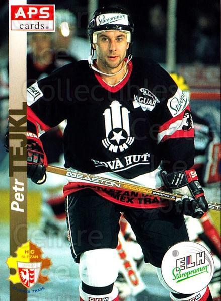 1996-97 Czech APS Extraliga #101 Petr Tejkl<br/>2 In Stock - $2.00 each - <a href=https://centericecollectibles.foxycart.com/cart?name=1996-97%20Czech%20APS%20Extraliga%20%23101%20Petr%20Tejkl...&quantity_max=2&price=$2.00&code=608293 class=foxycart> Buy it now! </a>