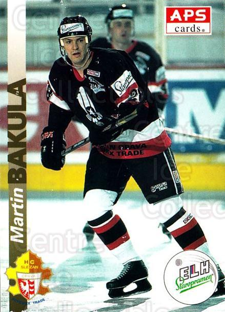1996-97 Czech APS Extraliga #102 Martin Bakula<br/>1 In Stock - $2.00 each - <a href=https://centericecollectibles.foxycart.com/cart?name=1996-97%20Czech%20APS%20Extraliga%20%23102%20Martin%20Bakula...&quantity_max=1&price=$2.00&code=608294 class=foxycart> Buy it now! </a>