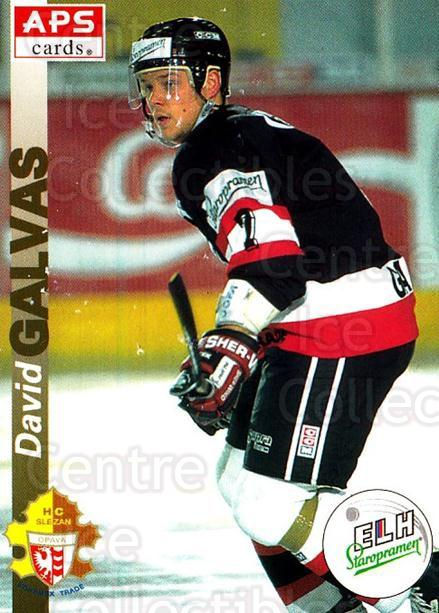 1996-97 Czech APS Extraliga #105 David Galvas<br/>2 In Stock - $2.00 each - <a href=https://centericecollectibles.foxycart.com/cart?name=1996-97%20Czech%20APS%20Extraliga%20%23105%20David%20Galvas...&quantity_max=2&price=$2.00&code=608297 class=foxycart> Buy it now! </a>
