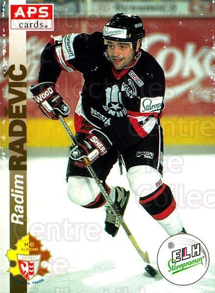 1996-97 Czech APS Extraliga #109 Radim Radevic<br/>2 In Stock - $2.00 each - <a href=https://centericecollectibles.foxycart.com/cart?name=1996-97%20Czech%20APS%20Extraliga%20%23109%20Radim%20Radevic...&quantity_max=2&price=$2.00&code=608301 class=foxycart> Buy it now! </a>