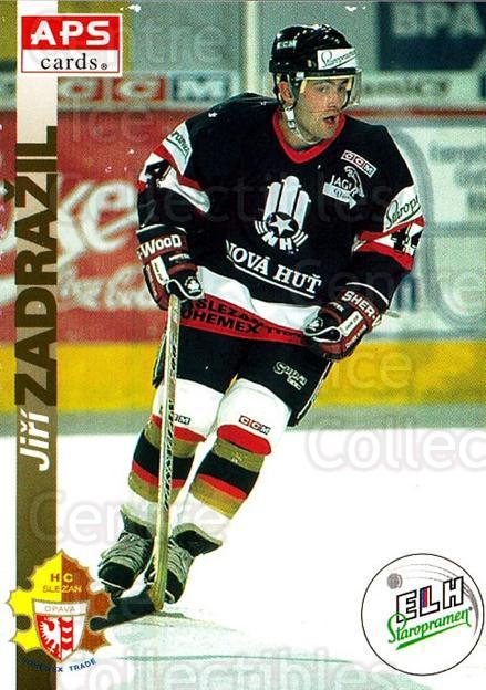 1996-97 Czech APS Extraliga #110 Jiri Zadrazil<br/>2 In Stock - $2.00 each - <a href=https://centericecollectibles.foxycart.com/cart?name=1996-97%20Czech%20APS%20Extraliga%20%23110%20Jiri%20Zadrazil...&quantity_max=2&price=$2.00&code=608302 class=foxycart> Buy it now! </a>