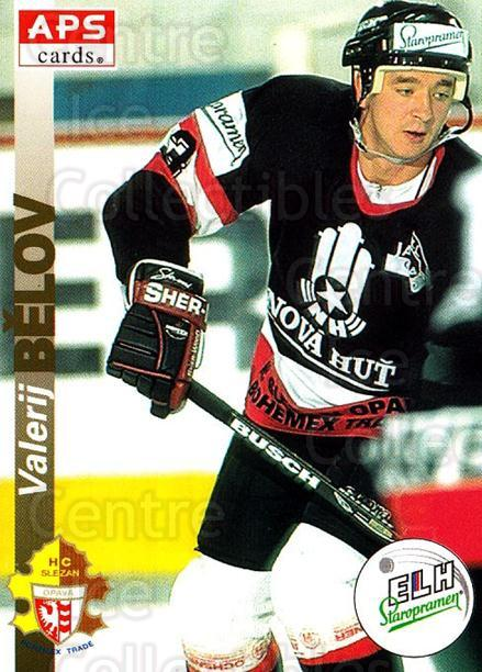 1996-97 Czech APS Extraliga #115 Valerij Belov<br/>1 In Stock - $2.00 each - <a href=https://centericecollectibles.foxycart.com/cart?name=1996-97%20Czech%20APS%20Extraliga%20%23115%20Valerij%20Belov...&quantity_max=1&price=$2.00&code=608307 class=foxycart> Buy it now! </a>