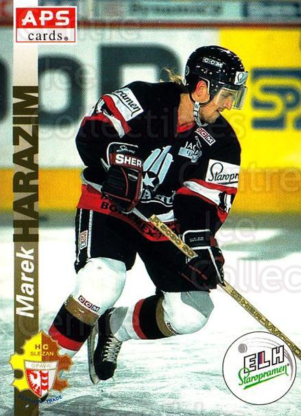 1996-97 Czech APS Extraliga #117 Marek Harazim<br/>3 In Stock - $2.00 each - <a href=https://centericecollectibles.foxycart.com/cart?name=1996-97%20Czech%20APS%20Extraliga%20%23117%20Marek%20Harazim...&quantity_max=3&price=$2.00&code=608309 class=foxycart> Buy it now! </a>