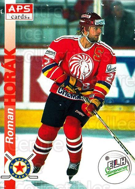 1996-97 Czech APS Extraliga #130 Roman Horak<br/>1 In Stock - $2.00 each - <a href=https://centericecollectibles.foxycart.com/cart?name=1996-97%20Czech%20APS%20Extraliga%20%23130%20Roman%20Horak...&quantity_max=1&price=$2.00&code=608322 class=foxycart> Buy it now! </a>