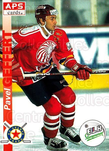 1996-97 Czech APS Extraliga #131 Pavel Geffert<br/>1 In Stock - $2.00 each - <a href=https://centericecollectibles.foxycart.com/cart?name=1996-97%20Czech%20APS%20Extraliga%20%23131%20Pavel%20Geffert...&quantity_max=1&price=$2.00&code=608323 class=foxycart> Buy it now! </a>