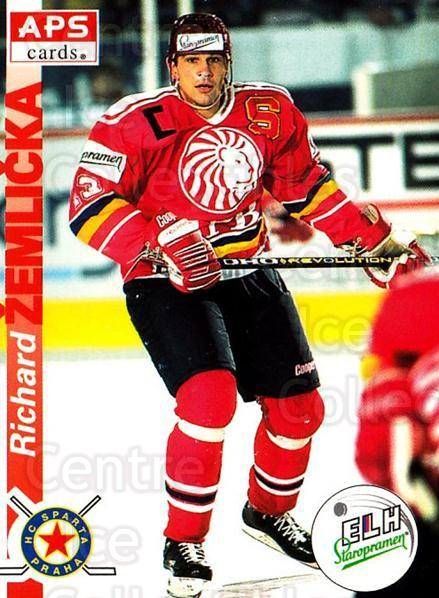1996-97 Czech APS Extraliga #132 Richard Zemlicka<br/>1 In Stock - $2.00 each - <a href=https://centericecollectibles.foxycart.com/cart?name=1996-97%20Czech%20APS%20Extraliga%20%23132%20Richard%20Zemlick...&quantity_max=1&price=$2.00&code=608324 class=foxycart> Buy it now! </a>