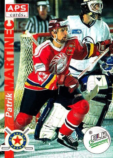 1996-97 Czech APS Extraliga #134 Patrik Martinec<br/>1 In Stock - $2.00 each - <a href=https://centericecollectibles.foxycart.com/cart?name=1996-97%20Czech%20APS%20Extraliga%20%23134%20Patrik%20Martinec...&quantity_max=1&price=$2.00&code=608326 class=foxycart> Buy it now! </a>