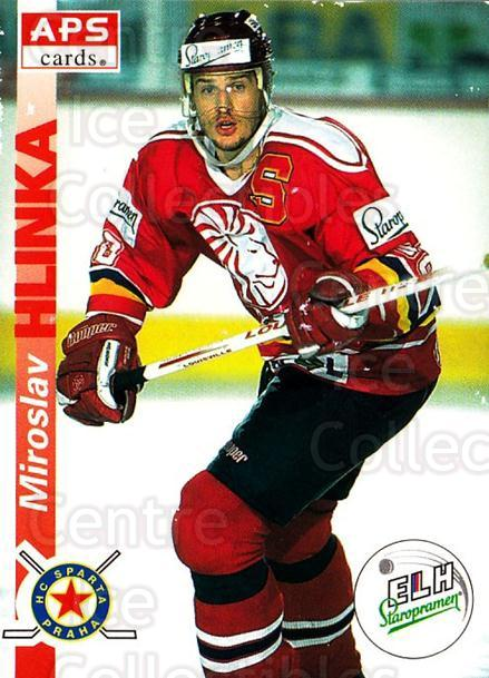1996-97 Czech APS Extraliga #136 Miroslav Hlinka<br/>1 In Stock - $2.00 each - <a href=https://centericecollectibles.foxycart.com/cart?name=1996-97%20Czech%20APS%20Extraliga%20%23136%20Miroslav%20Hlinka...&quantity_max=1&price=$2.00&code=608328 class=foxycart> Buy it now! </a>