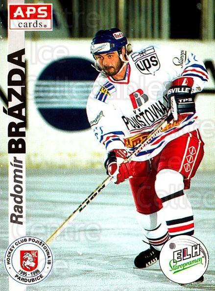 1996-97 Czech APS Extraliga #145 Radomir Brazda<br/>2 In Stock - $2.00 each - <a href=https://centericecollectibles.foxycart.com/cart?name=1996-97%20Czech%20APS%20Extraliga%20%23145%20Radomir%20Brazda...&quantity_max=2&price=$2.00&code=608337 class=foxycart> Buy it now! </a>