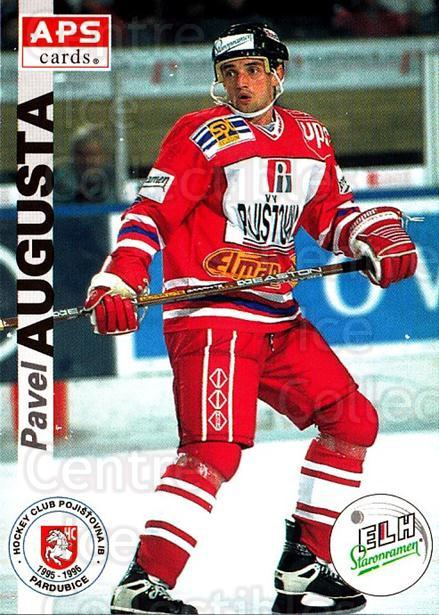 1996-97 Czech APS Extraliga #146 Pavel Augusta<br/>2 In Stock - $2.00 each - <a href=https://centericecollectibles.foxycart.com/cart?name=1996-97%20Czech%20APS%20Extraliga%20%23146%20Pavel%20Augusta...&quantity_max=2&price=$2.00&code=608338 class=foxycart> Buy it now! </a>