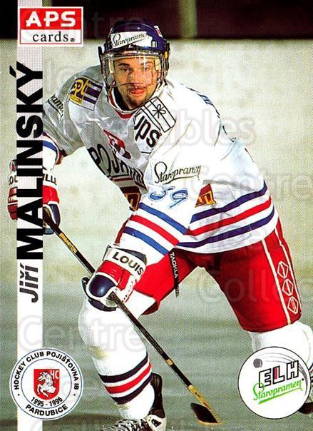 1996-97 Czech APS Extraliga #147 Jiri Malinsky<br/>2 In Stock - $2.00 each - <a href=https://centericecollectibles.foxycart.com/cart?name=1996-97%20Czech%20APS%20Extraliga%20%23147%20Jiri%20Malinsky...&quantity_max=2&price=$2.00&code=608339 class=foxycart> Buy it now! </a>