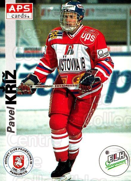 1996-97 Czech APS Extraliga #150 Pavel Kriz<br/>2 In Stock - $2.00 each - <a href=https://centericecollectibles.foxycart.com/cart?name=1996-97%20Czech%20APS%20Extraliga%20%23150%20Pavel%20Kriz...&quantity_max=2&price=$2.00&code=608342 class=foxycart> Buy it now! </a>