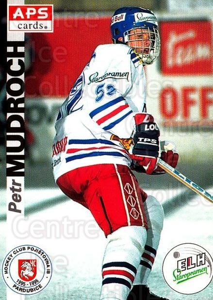1996-97 Czech APS Extraliga #152 Petr Mudroch<br/>1 In Stock - $2.00 each - <a href=https://centericecollectibles.foxycart.com/cart?name=1996-97%20Czech%20APS%20Extraliga%20%23152%20Petr%20Mudroch...&quantity_max=1&price=$2.00&code=608344 class=foxycart> Buy it now! </a>