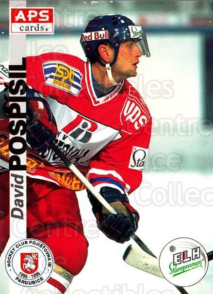 1996-97 Czech APS Extraliga #154 David Pospisil<br/>2 In Stock - $2.00 each - <a href=https://centericecollectibles.foxycart.com/cart?name=1996-97%20Czech%20APS%20Extraliga%20%23154%20David%20Pospisil...&quantity_max=2&price=$2.00&code=608346 class=foxycart> Buy it now! </a>