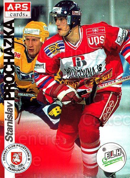 1996-97 Czech APS Extraliga #155 Stanislav Prochazka<br/>1 In Stock - $2.00 each - <a href=https://centericecollectibles.foxycart.com/cart?name=1996-97%20Czech%20APS%20Extraliga%20%23155%20Stanislav%20Proch...&quantity_max=1&price=$2.00&code=608347 class=foxycart> Buy it now! </a>
