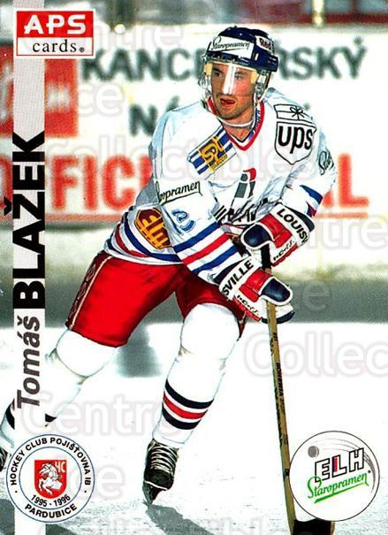 1996-97 Czech APS Extraliga #156 Tomas Martinec<br/>2 In Stock - $2.00 each - <a href=https://centericecollectibles.foxycart.com/cart?name=1996-97%20Czech%20APS%20Extraliga%20%23156%20Tomas%20Martinec...&quantity_max=2&price=$2.00&code=608348 class=foxycart> Buy it now! </a>
