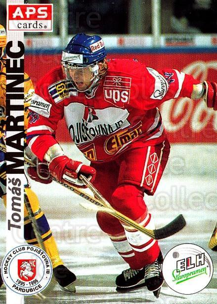 1996-97 Czech APS Extraliga #158 Tomas Martinec<br/>1 In Stock - $2.00 each - <a href=https://centericecollectibles.foxycart.com/cart?name=1996-97%20Czech%20APS%20Extraliga%20%23158%20Tomas%20Martinec...&quantity_max=1&price=$2.00&code=608350 class=foxycart> Buy it now! </a>