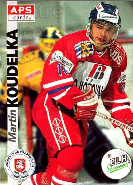1996-97 Czech APS Extraliga #160 Martin Koudelka<br/>2 In Stock - $2.00 each - <a href=https://centericecollectibles.foxycart.com/cart?name=1996-97%20Czech%20APS%20Extraliga%20%23160%20Martin%20Koudelka...&quantity_max=2&price=$2.00&code=608352 class=foxycart> Buy it now! </a>