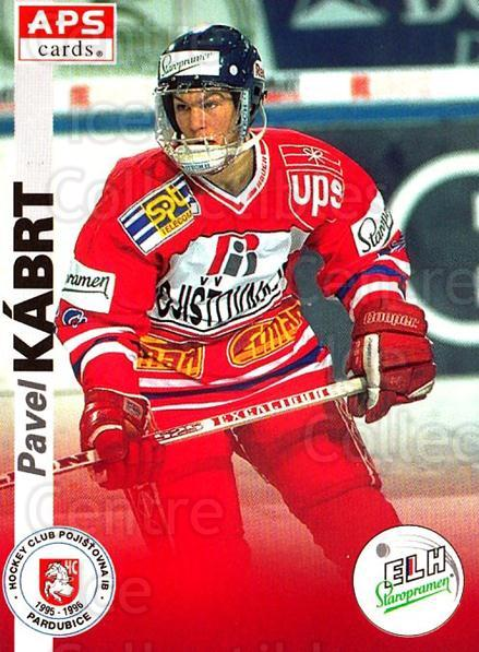 1996-97 Czech APS Extraliga #161 Pavel Kabrt<br/>2 In Stock - $2.00 each - <a href=https://centericecollectibles.foxycart.com/cart?name=1996-97%20Czech%20APS%20Extraliga%20%23161%20Pavel%20Kabrt...&quantity_max=2&price=$2.00&code=608353 class=foxycart> Buy it now! </a>