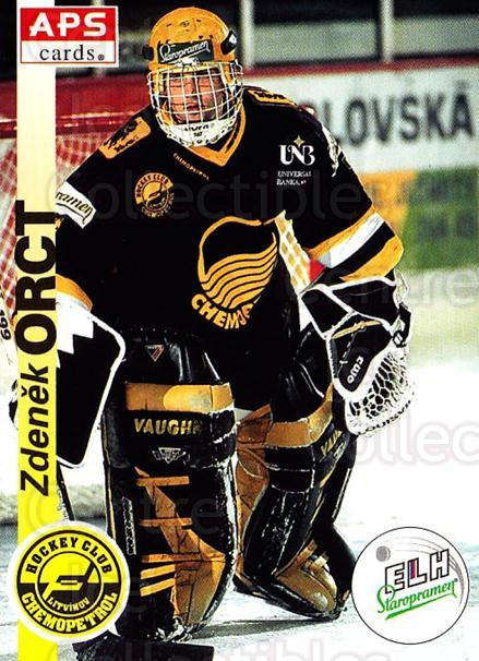 1996-97 Czech APS Extraliga #167 Zdenek Orct<br/>1 In Stock - $2.00 each - <a href=https://centericecollectibles.foxycart.com/cart?name=1996-97%20Czech%20APS%20Extraliga%20%23167%20Zdenek%20Orct...&quantity_max=1&price=$2.00&code=608359 class=foxycart> Buy it now! </a>