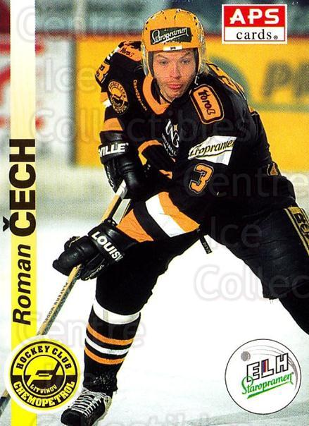 1996-97 Czech APS Extraliga #171 Roman Cech<br/>2 In Stock - $2.00 each - <a href=https://centericecollectibles.foxycart.com/cart?name=1996-97%20Czech%20APS%20Extraliga%20%23171%20Roman%20Cech...&quantity_max=2&price=$2.00&code=608363 class=foxycart> Buy it now! </a>