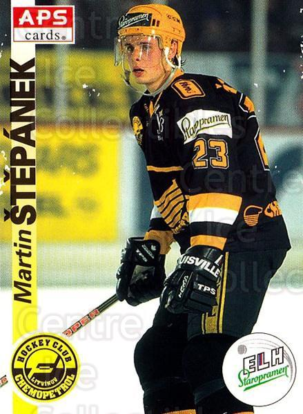 1996-97 Czech APS Extraliga #173 Martin Stepanek<br/>1 In Stock - $2.00 each - <a href=https://centericecollectibles.foxycart.com/cart?name=1996-97%20Czech%20APS%20Extraliga%20%23173%20Martin%20Stepanek...&quantity_max=1&price=$2.00&code=608365 class=foxycart> Buy it now! </a>