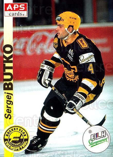 1996-97 Czech APS Extraliga #174 Sergej Butko<br/>1 In Stock - $2.00 each - <a href=https://centericecollectibles.foxycart.com/cart?name=1996-97%20Czech%20APS%20Extraliga%20%23174%20Sergej%20Butko...&quantity_max=1&price=$2.00&code=608366 class=foxycart> Buy it now! </a>
