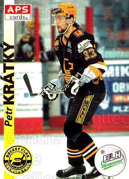 1996-97 Czech APS Extraliga #176 Petr Kratky<br/>2 In Stock - $2.00 each - <a href=https://centericecollectibles.foxycart.com/cart?name=1996-97%20Czech%20APS%20Extraliga%20%23176%20Petr%20Kratky...&quantity_max=2&price=$2.00&code=608368 class=foxycart> Buy it now! </a>