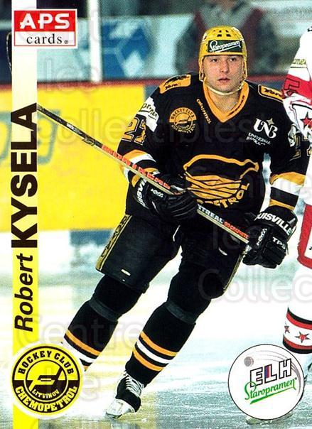 1996-97 Czech APS Extraliga #179 Robert Kysela<br/>2 In Stock - $2.00 each - <a href=https://centericecollectibles.foxycart.com/cart?name=1996-97%20Czech%20APS%20Extraliga%20%23179%20Robert%20Kysela...&quantity_max=2&price=$2.00&code=608371 class=foxycart> Buy it now! </a>