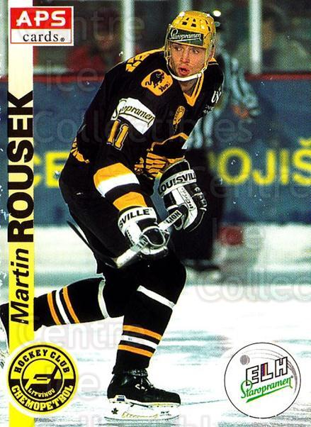 1996-97 Czech APS Extraliga #181 Martin Rousek<br/>2 In Stock - $2.00 each - <a href=https://centericecollectibles.foxycart.com/cart?name=1996-97%20Czech%20APS%20Extraliga%20%23181%20Martin%20Rousek...&quantity_max=2&price=$2.00&code=608373 class=foxycart> Buy it now! </a>
