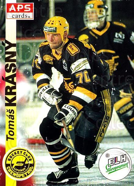 1996-97 Czech APS Extraliga #182 Tomas Krasny<br/>2 In Stock - $2.00 each - <a href=https://centericecollectibles.foxycart.com/cart?name=1996-97%20Czech%20APS%20Extraliga%20%23182%20Tomas%20Krasny...&quantity_max=2&price=$2.00&code=608374 class=foxycart> Buy it now! </a>