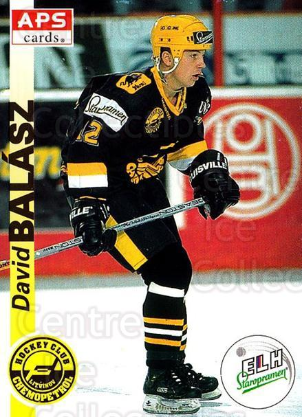 1996-97 Czech APS Extraliga #184 David Balazs<br/>2 In Stock - $2.00 each - <a href=https://centericecollectibles.foxycart.com/cart?name=1996-97%20Czech%20APS%20Extraliga%20%23184%20David%20Balazs...&quantity_max=2&price=$2.00&code=608376 class=foxycart> Buy it now! </a>