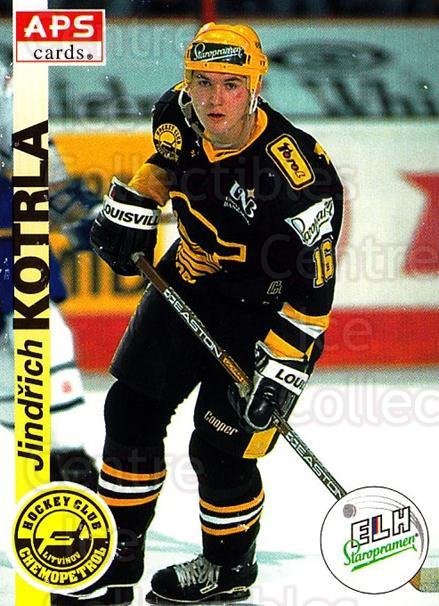 1996-97 Czech APS Extraliga #185 Jindrich Kotrla<br/>3 In Stock - $2.00 each - <a href=https://centericecollectibles.foxycart.com/cart?name=1996-97%20Czech%20APS%20Extraliga%20%23185%20Jindrich%20Kotrla...&quantity_max=3&price=$2.00&code=608377 class=foxycart> Buy it now! </a>