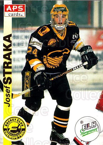 1996-97 Czech APS Extraliga #186 Josef Straka<br/>2 In Stock - $2.00 each - <a href=https://centericecollectibles.foxycart.com/cart?name=1996-97%20Czech%20APS%20Extraliga%20%23186%20Josef%20Straka...&quantity_max=2&price=$2.00&code=608378 class=foxycart> Buy it now! </a>
