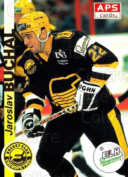 1996-97 Czech APS Extraliga #187 Jaroslav Buchal<br/>2 In Stock - $2.00 each - <a href=https://centericecollectibles.foxycart.com/cart?name=1996-97%20Czech%20APS%20Extraliga%20%23187%20Jaroslav%20Buchal...&quantity_max=2&price=$2.00&code=608379 class=foxycart> Buy it now! </a>