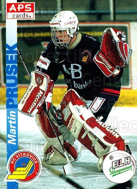 1996-97 Czech APS Extraliga #191 Martin Prusek<br/>1 In Stock - $2.00 each - <a href=https://centericecollectibles.foxycart.com/cart?name=1996-97%20Czech%20APS%20Extraliga%20%23191%20Martin%20Prusek...&quantity_max=1&price=$2.00&code=608383 class=foxycart> Buy it now! </a>