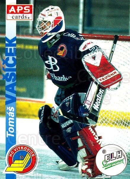 1996-97 Czech APS Extraliga #192 Tomas Vasicek<br/>1 In Stock - $2.00 each - <a href=https://centericecollectibles.foxycart.com/cart?name=1996-97%20Czech%20APS%20Extraliga%20%23192%20Tomas%20Vasicek...&quantity_max=1&price=$2.00&code=608384 class=foxycart> Buy it now! </a>