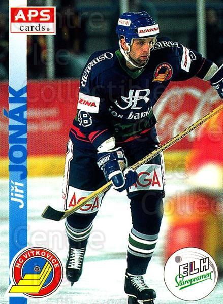 1996-97 Czech APS Extraliga #193 Jiri Jonak<br/>1 In Stock - $2.00 each - <a href=https://centericecollectibles.foxycart.com/cart?name=1996-97%20Czech%20APS%20Extraliga%20%23193%20Jiri%20Jonak...&quantity_max=1&price=$2.00&code=608385 class=foxycart> Buy it now! </a>