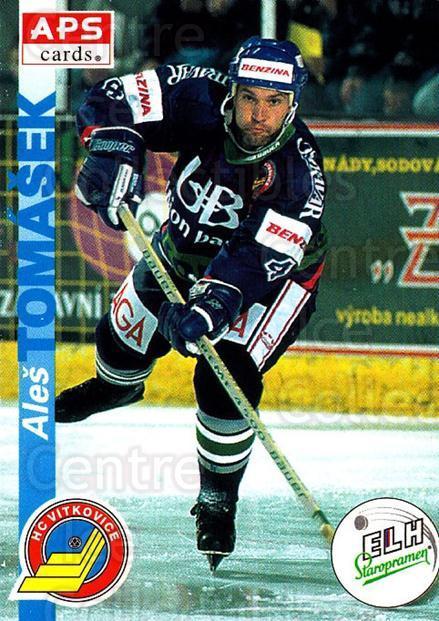 1996-97 Czech APS Extraliga #194 Ales Tomasek<br/>2 In Stock - $2.00 each - <a href=https://centericecollectibles.foxycart.com/cart?name=1996-97%20Czech%20APS%20Extraliga%20%23194%20Ales%20Tomasek...&quantity_max=2&price=$2.00&code=608386 class=foxycart> Buy it now! </a>