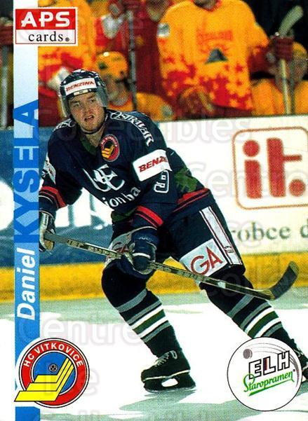 1996-97 Czech APS Extraliga #195 Daniel Kysela<br/>3 In Stock - $2.00 each - <a href=https://centericecollectibles.foxycart.com/cart?name=1996-97%20Czech%20APS%20Extraliga%20%23195%20Daniel%20Kysela...&quantity_max=3&price=$2.00&code=608387 class=foxycart> Buy it now! </a>