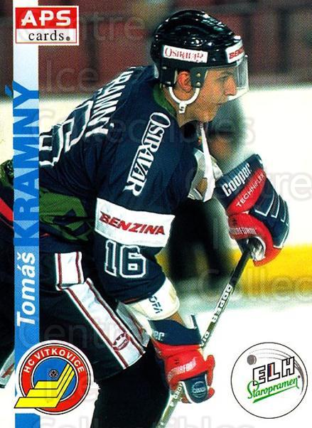 1996-97 Czech APS Extraliga #197 Tomas Kramny<br/>3 In Stock - $2.00 each - <a href=https://centericecollectibles.foxycart.com/cart?name=1996-97%20Czech%20APS%20Extraliga%20%23197%20Tomas%20Kramny...&quantity_max=3&price=$2.00&code=608389 class=foxycart> Buy it now! </a>