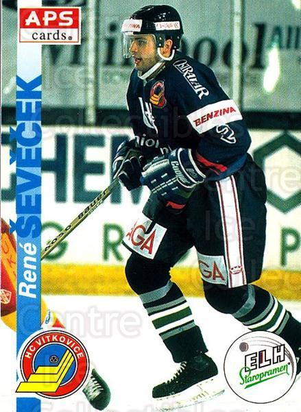 1996-97 Czech APS Extraliga #198 Rene Sevecek<br/>2 In Stock - $2.00 each - <a href=https://centericecollectibles.foxycart.com/cart?name=1996-97%20Czech%20APS%20Extraliga%20%23198%20Rene%20Sevecek...&quantity_max=2&price=$2.00&code=608390 class=foxycart> Buy it now! </a>