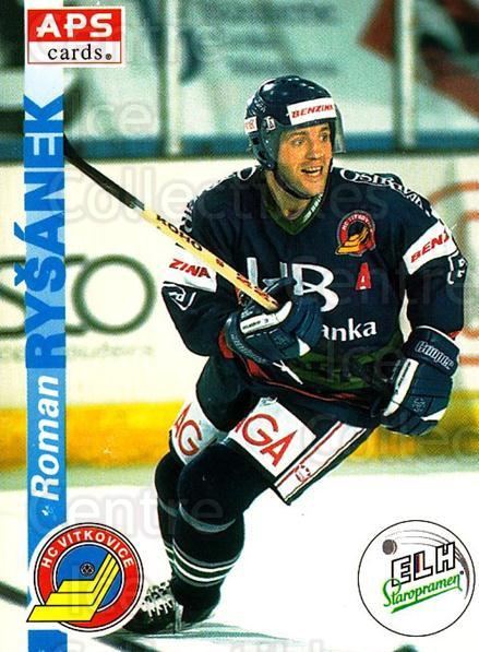 1996-97 Czech APS Extraliga #201 Roman Rysanek<br/>2 In Stock - $2.00 each - <a href=https://centericecollectibles.foxycart.com/cart?name=1996-97%20Czech%20APS%20Extraliga%20%23201%20Roman%20Rysanek...&quantity_max=2&price=$2.00&code=608393 class=foxycart> Buy it now! </a>