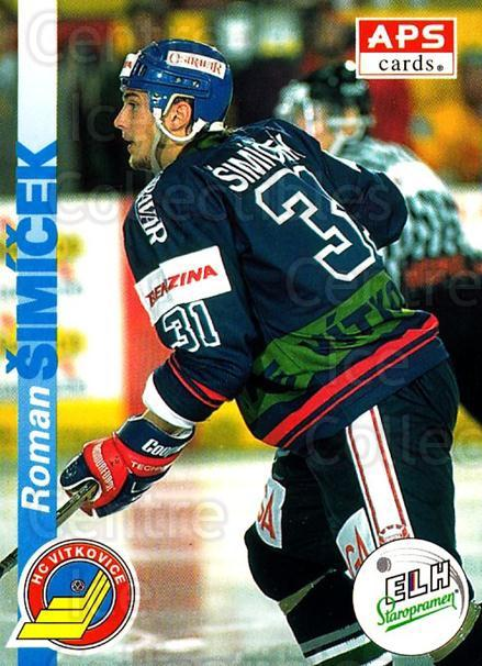 1996-97 Czech APS Extraliga #202 Roman Simicek<br/>1 In Stock - $2.00 each - <a href=https://centericecollectibles.foxycart.com/cart?name=1996-97%20Czech%20APS%20Extraliga%20%23202%20Roman%20Simicek...&quantity_max=1&price=$2.00&code=608394 class=foxycart> Buy it now! </a>