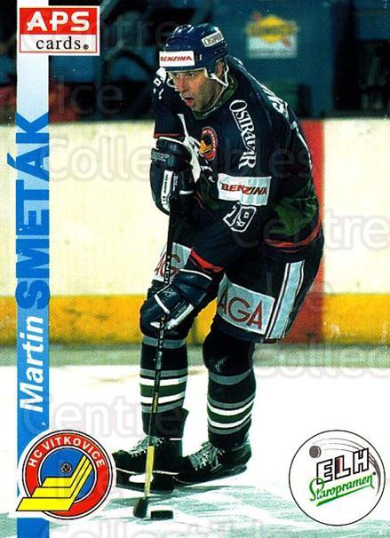 1996-97 Czech APS Extraliga #203 Martin Smetak<br/>3 In Stock - $2.00 each - <a href=https://centericecollectibles.foxycart.com/cart?name=1996-97%20Czech%20APS%20Extraliga%20%23203%20Martin%20Smetak...&quantity_max=3&price=$2.00&code=608395 class=foxycart> Buy it now! </a>