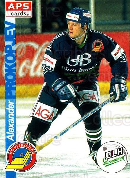 1996-97 Czech APS Extraliga #207 Alexander Prokopjev<br/>1 In Stock - $2.00 each - <a href=https://centericecollectibles.foxycart.com/cart?name=1996-97%20Czech%20APS%20Extraliga%20%23207%20Alexander%20Proko...&quantity_max=1&price=$2.00&code=608399 class=foxycart> Buy it now! </a>