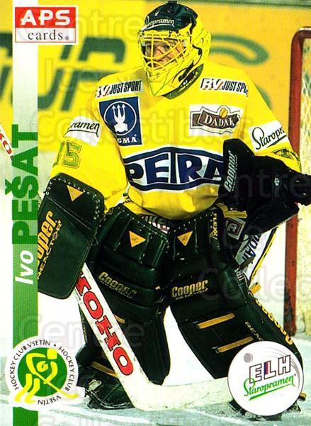 1996-97 Czech APS Extraliga #215 Ivo Pesat<br/>1 In Stock - $2.00 each - <a href=https://centericecollectibles.foxycart.com/cart?name=1996-97%20Czech%20APS%20Extraliga%20%23215%20Ivo%20Pesat...&quantity_max=1&price=$2.00&code=608407 class=foxycart> Buy it now! </a>