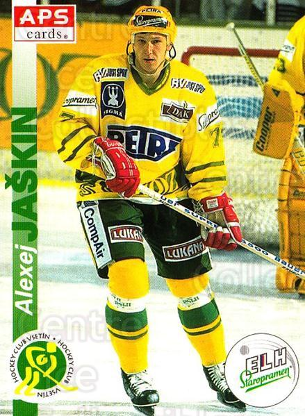1996-97 Czech APS Extraliga #219 Alexej Jaskin<br/>1 In Stock - $2.00 each - <a href=https://centericecollectibles.foxycart.com/cart?name=1996-97%20Czech%20APS%20Extraliga%20%23219%20Alexej%20Jaskin...&quantity_max=1&price=$2.00&code=608411 class=foxycart> Buy it now! </a>