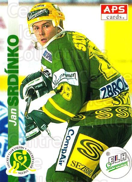 1996-97 Czech APS Extraliga #220 Jan Srdinko<br/>1 In Stock - $2.00 each - <a href=https://centericecollectibles.foxycart.com/cart?name=1996-97%20Czech%20APS%20Extraliga%20%23220%20Jan%20Srdinko...&quantity_max=1&price=$2.00&code=608412 class=foxycart> Buy it now! </a>